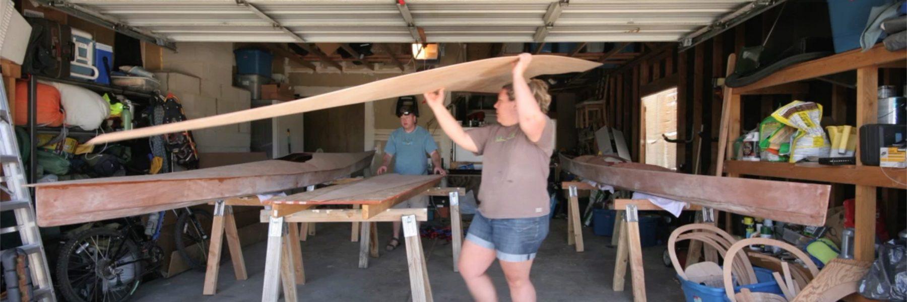 Building Kayaks